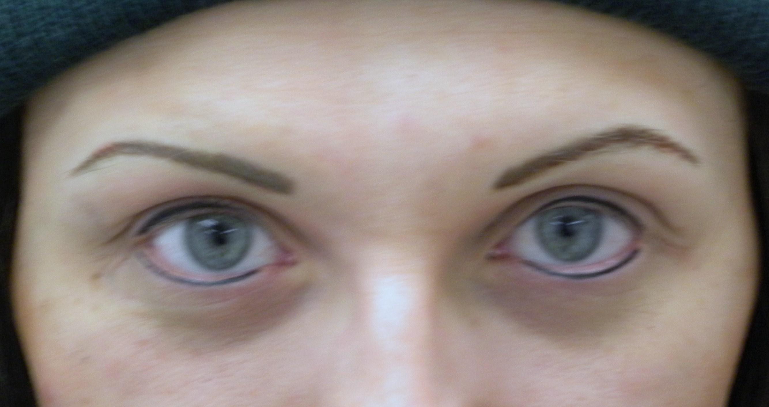 Alopecia Brows And Eyeliner No Natural Hair Or Lashes